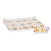 Scamp mintás narancs macis textilpelenka 5db