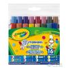Crayola : 16 Db Különleges Hegyű Mosható Filctoll (Crayola, 58-8709)