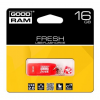 Pendrive, 16GB, USB 2.0, 20/5MB/sec, illatos, GOODRAM Fresh , eper (PD16GH2GRFSR9)