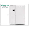 Nillkin Apple iPhone 6 Plus/6S Plus oldalra nyíló flipes tok - Nillkin Sparkle - fehér
