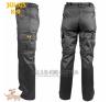 Julius-K9 K9 pamut nadrág, cipzározható szárral - impregnált, fekete / méret 38 férfi nadrág
