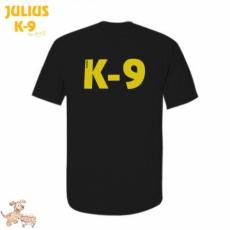 Julius-K9 K9 póló, fekete - méret: 4XL