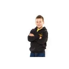 Julius-K9 K9 cipzáras gyermek pulóver, fekete - méret: M