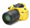 Easy Cover Szilikon Tok D5200, citromsárga fényképezőgép tok