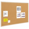 BI-OFFICE Cork Notice Board BI-OFFICE  100x100cm  wood frame 5603750015000