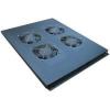 AMTECH 4-es ventilátor egység + termosztát, tetőbe szerelendő, fekete