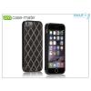 CASE-MATE Apple iPhone 6/6S hátlap - Case-Mate Carbon Alloy - black/silver