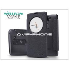 Nillkin LG H525 G4c/H500F Magna oldalra nyíló flipes tok - Nillkin Sparkle - fekete tok és táska