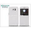 Nillkin Samsung SM-G920 Galaxy S6 oldalra nyíló flipes tok - Nillkin Sparkle - fehér