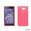 CELLECT Sony Xperia Z5 Compact vékony szilikon hátlap,Pink