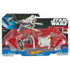 Hot Wheels Star Wars TIE fighter és Ghost űrhajó szett, db-os (Mattel DLP58 CGW90)