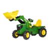 Rolly Toys Rolly Farmtrac John Deere 6210R pedálos traktor markolóval