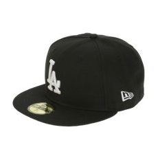 New Era LEAGUE BASIC LOS ANGELES DODGERS BLACK 61,5 cm Fekete/Fehér