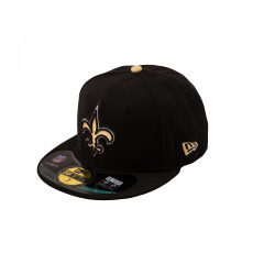 New Era NFL ONFIELD 5950 NEW ORLEANS SAINTS GAME 60,6 cm fekete
