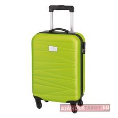 Padua gurulós utazó bőrönd, világoszöld