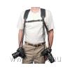 OPTech USA Dual Harness neoprén dupla fényképezőgép-hám, normál hossz, fekete