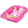 Écoiffier fürdető készlet- rózsaszín