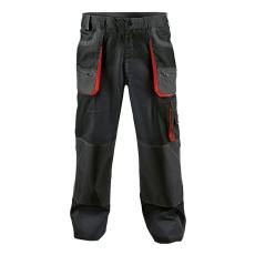 BE-01-003 derekas nadrág fekete/piros