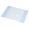 PANTA PLAST Füzetborító, A4, 80 mikron, kék (10 darab)