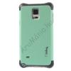 utángyártott Telefonvédő gumi / szilikon (műanyag hátlap) CYAN [Samsung Galaxy Note 4. (SM-N910C)]