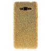 utángyártott Műanyag telefonvédő (csillogó, flitteres) ARANY [Samsung Galaxy Grand Prime (SM-G530F)]