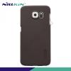 Nillkin SUPER FROSTED műanyag telefonvédő (gumírozott, érdes felület, képernyővédő fólia, tisztítókendő) BARNA [Samsung Galaxy S6 (SM-G920)]