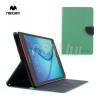 Mercurycase MERCURY Goospery tok álló, bőr (FLIP, mágneses, oldalra nyíló, bankkártya tartó, asztali tartó funkció) CYAN [Samsung Galaxy Tab A 8.0 (SM-T350)]