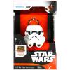 STAR Wars: Lázadók világító kulcstartó - Rohamosztagos sisak