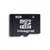 Integral Memory card Integral microSDHC 8GB Class 4 ADAPTER SD INMSDH8G4V2