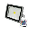 Life Light Led LED fényszóró 30W, RGB színváltós távirányítóval 2400 lumen led