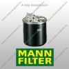 MANN-FILTER WK512/1 Mann-Filter Fémházas üzemanyagszűrő