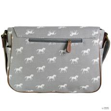 L1157H - Miss Lulu London táska ló szürke