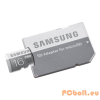 Samsung 16GB MicroSD kártya Pro Class10 UHS-1 U3 Grade1 + adapter