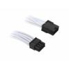 Bitfénix BitFenix 8-Pin PCIe hosszabbító 45cm - fehér / fekete