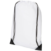 CENTRIX Condor hátizsák-tornazsák, fehér (Speciális anyagkombináció miatt ez az egyszerű táska egyedi és)