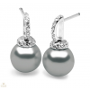 Silvertrends ezüst fülbevaló - ST984