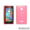 CELLECT Microsoft Lumia 950 XL vékony szilikon hátlap,Pink