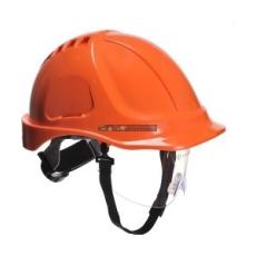 Portwest PW55 Endurance védősisak védőszemüveggel (narancs)
