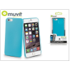 Muvit Apple iPhone 6/6S szilikon hátlap - Muvit Ultra Thin 0,35 mm - blue