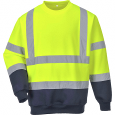 Portwest B306 Kéttónusú jól láthatósági pulóver