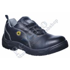 Portwest FC02 Compositelite ESD fémmentes védőcipő bőr felsőrésszel S1