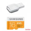 Samsung Evo microSD kártya, olvasó,C10, 16GB