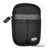Jupio Xize TravelCase kicsi kompakt tok, fekete
