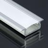 Lumines Alu profil eloxált (Type-Z) ezüst, félig átlátszó