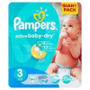 Pampers Active Baby-Dry, Midi 4-9 kg, 90 db-os