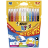 Bic Flamastry Kid Couleur Pudełko 10+2 flk0400057