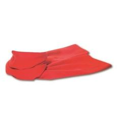 Polár sál, piros (Polár sál, 200 g/m2. Méret: 150 × 25 cm.)