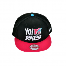 New Era YO RAPS 9FIFTY MTVRPS BLKBRRVCB Baseball sapka