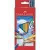 Faber-Castell színes ceruzakészlet 10db-os, Junior, háromszög test