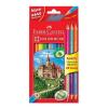 Faber-Castell színes ceruzakészlet 12+3 (3 Bicolor)